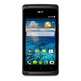 Smartphone ACER Liquid Z205, HM.HJLEE.004, 4'' multitouch, DualCore MediaTek MT6572M 1.0GHz, 512GB RAM, 4GB Flash, Dual SIM, MicroSD, kamera, BT, Android 4.4, crni, HM.HJLEE.004 - BEST BUY