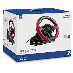 Volan Speedlink TRAILBLAZER Racing Wheel - PS4/Xbox One/PS3, crni
