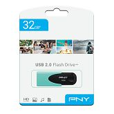 USB stick PNY 32GB USB2.0 Attaché 4 Pastel, tirkizni