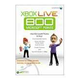 Xbox Live 800 Microsoft Points European Region CD Key
