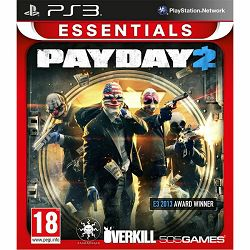 PS3 Essentials Payday 2