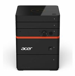 Acer Revo Build M2-601, DT.B3BEX.003, Intel Core i3-6100U (3M Cache, 2.30 GHz),4GB DDR3,1TB SATA 5400rpm, Intel HD 520 Graphics,USB 3.0 x3,Display port, HDMI, DOS