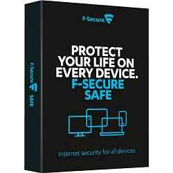 Antivirusni program F-Secure Safe - 1 godina / 5 licenci