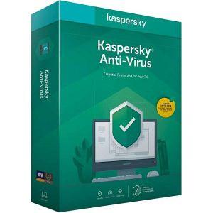 Antivirusni program Kaspersky Anti-Virus 3D 1Y