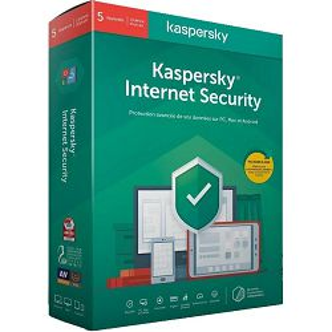 Antivirusni program Kaspersky Internet Security 5-Desktop 1 Year Base