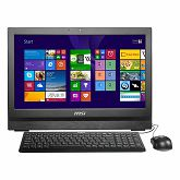 PC LCD MSI AiO AP200(Intel H81, Pentium G3250, 4GB DDR3, 500GB, LAN, Wi-Fi, 2xCOM, DVDRW, Intel Graphics, Web Cam, 20