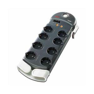 APC SurgeArrest 8 (1 PLC Compatible) outlets with Phone and Coax, APC-PL8VT3-DE