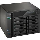 NAS uređaj Asustor AS6210T, Celeron J3150, 2GB DDR3 (max 8GB), RAID 0/1/5/6/10/JBOD+single disk, GbE x 4, 3x USB 3.0 + 2x eSATA, WoL, HDMI + SPDIF + IR, System Sleep Mode, 25 NVR licenses
