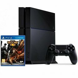 Playstation 4 500 GB + inFAMOUS: Second Son - AKCIJA