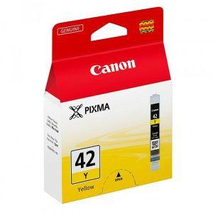 Tinta Canon CLI-42Y, žuta