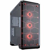Kućište CORSAIR Crystal Series 570X RGB – Tempered Glass, Premium ATX Mid-Tower Case, Red LED lighting, compatible liquid cooling: H55, H60, H75, H80i, H90, H100i, H105, H110