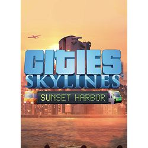 Cities: Skylines - Sunset Harbor STEAM Key