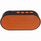 Zvučnik Canyon Portable Bluetooth V4.2 + EDR stereo speaker with 3.5mm Aux, microSD card slot, USB / micro-USB port, bulit in 300mA battery, Black and Orange