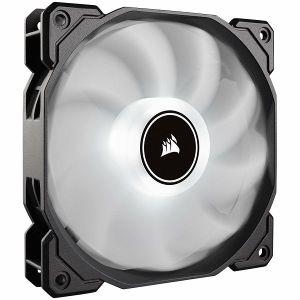 Ventilator za kućište Corsair AF120 LED Low Noise Cooling Fan, Single Pack, Bijeli