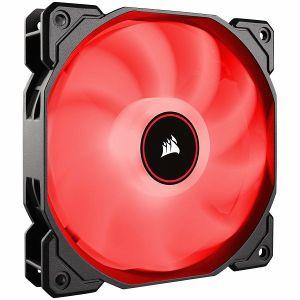 Ventilator za kućište Corsair AF120 LED Low Noise Cooling Fan, Single Pack, Crveni