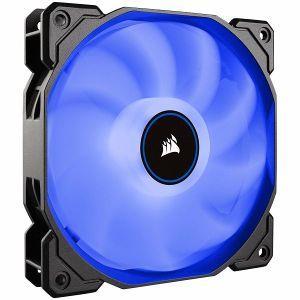 Ventilator za kućište Corsair AF120 LED Low Noise Cooling Fan, Single Pack, Plavi