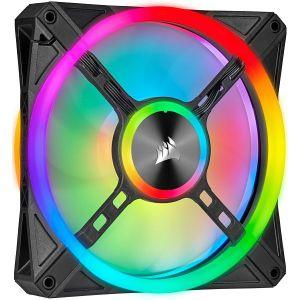 Ventilator za kućište Corsair iCUE QL140 RGB 140mm PWM