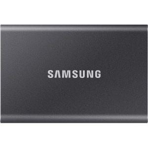 Eksterni SSD Samsung T7 2TB, Type-C USB 3.2 Gen2 V-NAND UASP, grey
