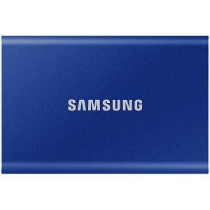 Eksterni SSD Samsung T7 500GB, Type-C USB 3.2 Gen2 V-NAND UASP, blue