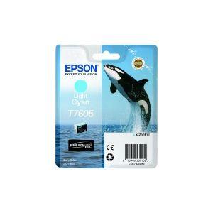 Tinta Epson T7605 Light Cyan za SC-P600