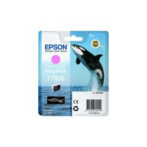 Tinta Epson T7606 Vivid Light Magenta za SC-P600