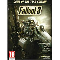 Fallout 3 Game Of The Year Edition STEAM CD Key