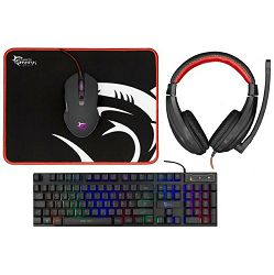 Gaming combo set WHITE SHARK  GC-4102 COMANCHE-2  KEYBOARD+MOUSE+MOUSE PAD+ HEADSET
