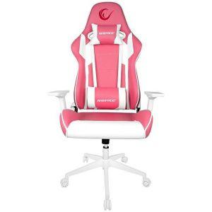 Gaming stolica RAMPAGE KL-R80, rozo - bijela