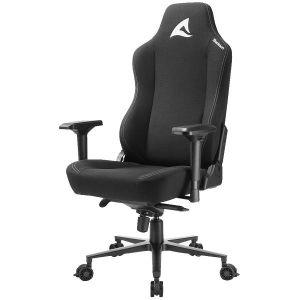 Gaming stolica Sharkoon Skiller SGS40, čvrsta tkanina, crna - PROMO