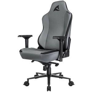 Gaming stolica Sharkoon Skiller SGS40, umjetna koža, crno/siva - MAXI PONUDA