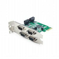 Gembird 4 serial port PCI-Express add-on card