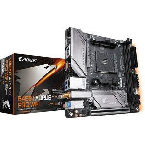 Matična ploča Gigabyte B450 I AORUS PRO WIFI, AM4, 2xDDR4, 1xPCIex16, ALC1220-VB, GbE LAN, 4xSATA3, 4x USB3.2 Gen2/Gen1, 2x USB2.0, M.2, Mini-ITX