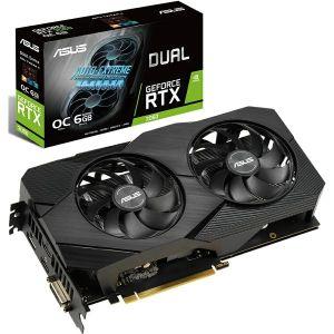 Grafička Asus GeForce RTX2060 OC Dual EVO, 6GB GDDR6 - MAXI PONUDA