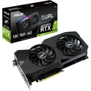 Grafička Asus GeForce RTX3060Ti Dual V2 OC, 8GB GDDR6, LHR
