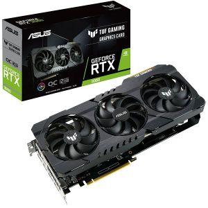 Grafička Asus TUF Gaming GeForce RTX3060 V2 OC Edition, 12GB GDDR6, LHR