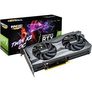 Grafička Inno3D GeForce RTX 3060 TWIN X2 OC, 12GB GDDR6 - PROMO