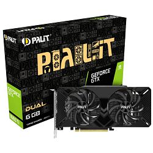 Grafička Palit GeForce GTX1660Ti Dual, 6GB GDDR6