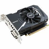 Grafička MSI GeForce GT 1030 OC GDDR5 2GB/64bit, 1265MHz/6008MHz, PCI-E 3.0 x16, HDMI, DVI-D, AERO ITX fan Cooler (Double Slot), Retail
