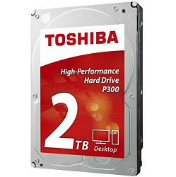 Hard disk Toshiba HDWD120UZSVA  P300 2TB, 64MB, 7200rpm - BEST BUY