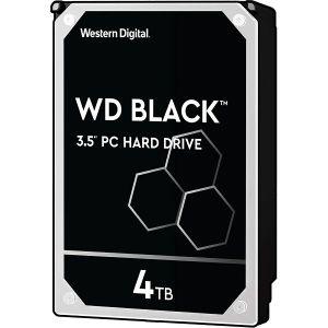 Hard disk WD Black (4TB, SATA 6Gb/s, 256MB Cache, 7200rpm)