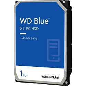 Hard disk WD Blue (1TB, SATA 6Gb/s, 64MB Cache, 5400rpm)