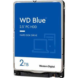 Hard disk WD Blue (2TB, SATA 6Gb/s, 128MB Cache, 5400rpm)