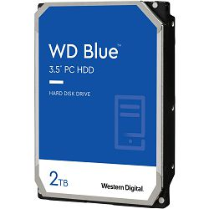 Hard disk WD Blue (2TB, SATA 6Gb/s, 256MB Cache, 7200rpm)