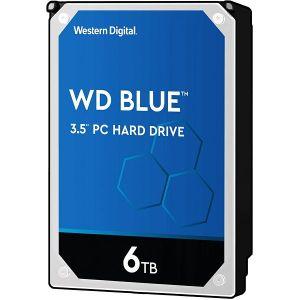 Hard disk WD Blue (6TB, SATA 6Gb/s, 256MB Cache, 5400rpm)