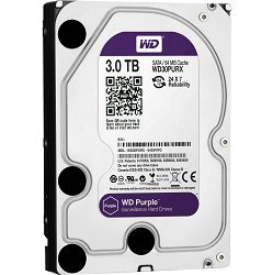 Hard disk WD Purple (3.5, 3TB, 64MB, 5400 RPM, SATA 6 Gb/s)