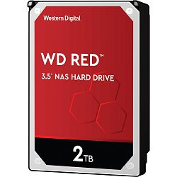 Hard disk WD Red NAS (2TB, SATA 6Gb/s, 256MB Cache, 5400rpm)