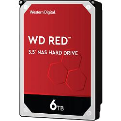 Hard disk WD Red NAS (6TB, SATA 6Gb/s, 256MB Cache, 5400rpm)