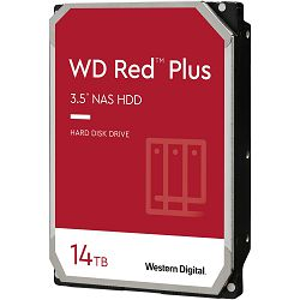 Hard disk WD Red Plus (14TB, SATA 6Gb/s, 512MB Cache, 7200rpm)