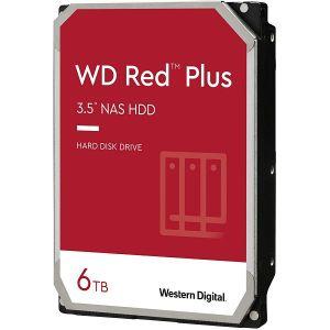Hard disk WD Red Plus (6TB, SATA 6Gb/s, 128MB Cache, 5640rpm)