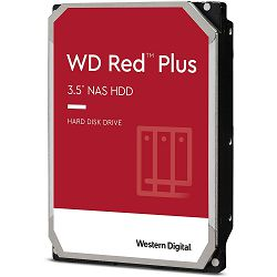 Hard disk WD Red Plus NAS (4TB, Sata 6Gb/s, 128MB Cache, 5400rpm)